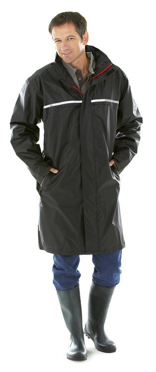 manteau de pluie dp650 parka v tements pluie et haute visibilite professionnel. Black Bedroom Furniture Sets. Home Design Ideas
